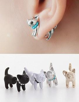 1043326 - <ER730-GH13/14>部落的猫耳环