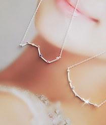 233045 - <SL092-S> [缺货] [银]星座项链