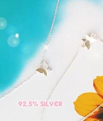 233077 - <L093-S> [缺货] [银色]甜霍利奇项链