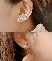 237204 - <EC097-CA19> [银针]不平衡蛇耳箍