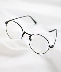 238006 - <FI031-BD09>侧影圆服装眼镜