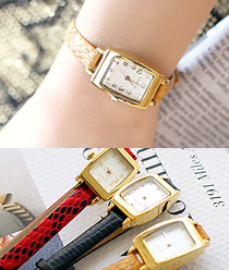 238078 - <WC076-BD10>法国皮革手表