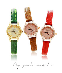 887151 - <WC080-BD12>我的灵魂皮革手表