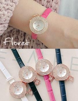 1043809 - <WC091-S> [立即缺货]小花皮手表