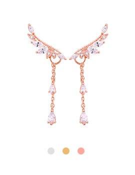 1043984 - <ER1435_S> [售完] [银针]法国翅膀耳环