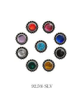 1044025 - <ER893_S> [当天发货] [银色]马卡达姆耳环