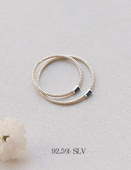 1044107 - <RI524_JF07> [2个1集] [银色] Forest Ring