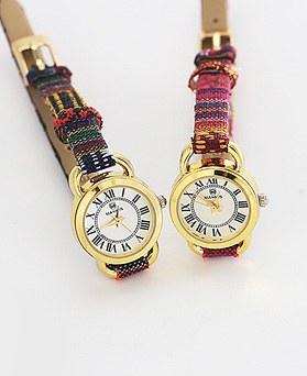1044281 - <WC100_S> [当日发货]简单民族皮革手表