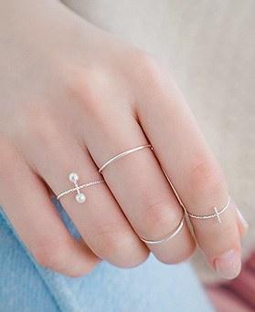 1044413 - <RI577_JH01> [4个1集] [Ginkgo] Sothebyte Natan戒指