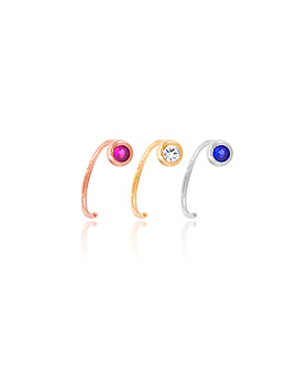 1044797 - <ER1086_JB13> [单卖] [银色]湖耳环环