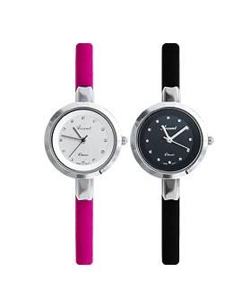 1044966 - <WC107_S> [当天发货]浆果皮革手表