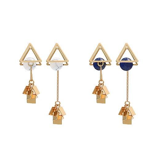 1045064 - <ER1162_CF07>三角形链条不平衡耳环