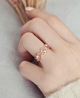 1045458 - <RI678_AG06>鹅卵石戒指