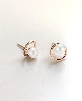 1045557 - <ER1270_S> [售罄] [夹式]甜珍珠耳环