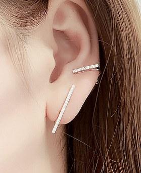 1045750 - <ER1340_DM01> [当天发货] [夹式]不平衡射杆耳圈