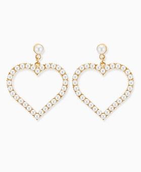 1045760 - <ER1342_GF11>爱心日珍珠耳环