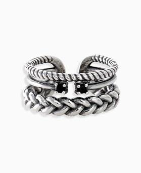 1045857 - <RI721_AD14> [银色] Hollis Buraku戒指