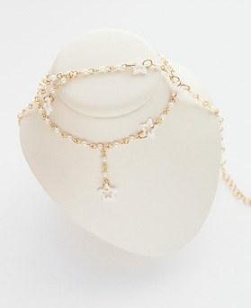 1045867 - <JS256_IG03> [项链+脚镯]领珍珠集