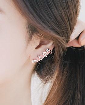1045898 - <ER1385_CB11> [银针]不平衡的泡沫T恤耳朵