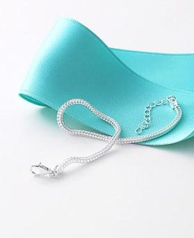 1045956 - <SL460-BE00> [银色]文森特链镯镯子