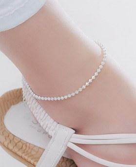 1045979 - <SL467-BE00> [银色] Waveball腿镯