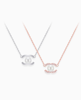 1046296 - <NE444_BD00> [银色]珍珠眼项链