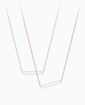 1046320 - <NE445_BE00> [银色] Hollis项链
