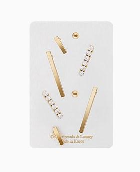 1046359 - <ER1510_CA08> [8个1集]棒系列耳环