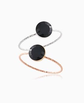 1046389 - <RI753_AG08> [银色]石英宝石戒指