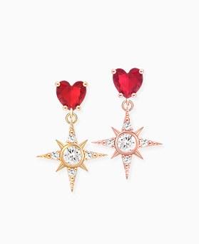 1046425 - <ER1441_GE11> [银针]红宝石锋利的耳朵