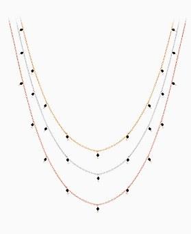 1046465 - <NE460_BG00> [银色]玛重斑项链