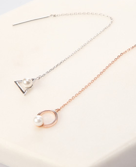 1046504 - <ER1542_BH01> [银色] Sigongi长链耳环