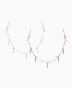 1046513 - <NE465_BH02> [MBC握住你的手] [银色] Dunst棒项链