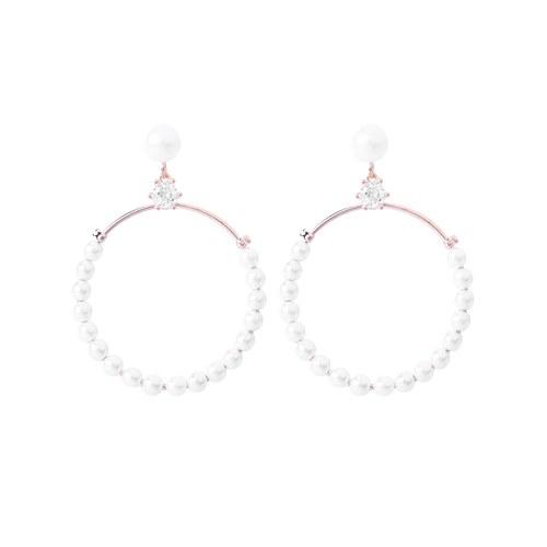 1046521 - <ER1552_GE06> [银针] Thalia珍珠耳环