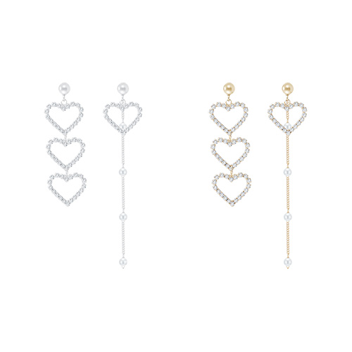 1046665 - <ER1565_CG07> [银针]艾伦的均衡爱心耳环