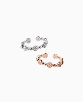1046766 - <RI776_JA21> [银色]罗兰立方体戒指