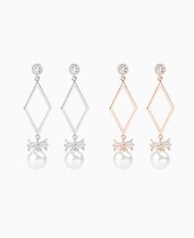 1046900 - <ER1634_DJ09> [夹式] Camille珍珠耳环