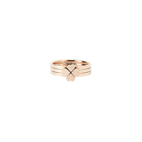 1047057 - <RI796_AB10> [3个1集] [不锈钢]苜爱心环