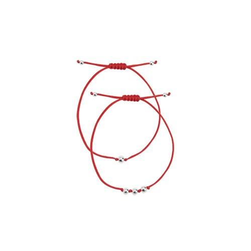 1046954 - <BC734_BE07> [银色] Nub球镯子