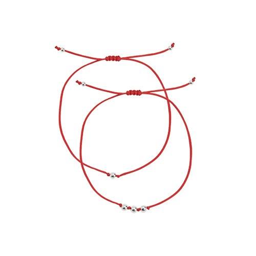 1046955 - <BC734_BE07> [银色] Nerve Ball脚镯