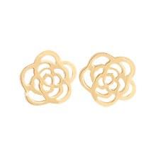 230327 - <K14J015-GJ16> [单卖] [10K金]小玫瑰耳耳轮