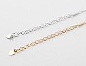 10307 - [银色]免费链条5厘米(尾巴链条)