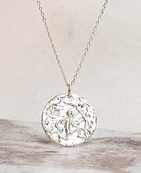 1049370 - <NE586_BB19> [银色] fresco项链