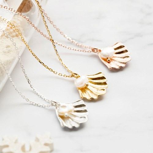 1047698 - <NE535_BE04> [银色] Amanti珍珠项链