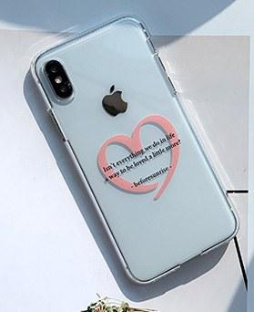 1048654 - <FI226_DM07>色爱心书信iPhone兼容箱