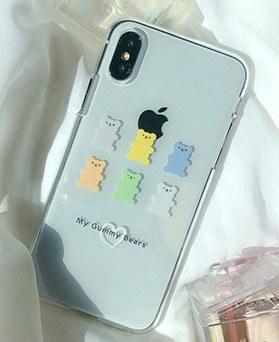 1048696 - <FI243_DM07> Bonbon Gummi Bear兼容iPhone
