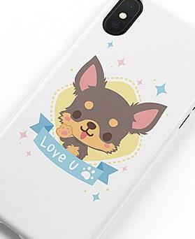 1048954 - <IP0032>鲁比约克夏犬iPhone兼容