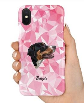 1048958 - <IP0036>兼容iPhone的粉红色狗