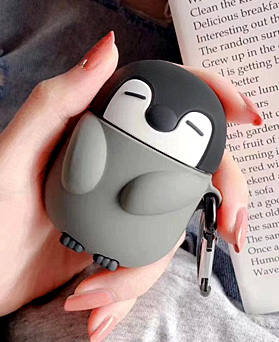 1049033 - <AP0474> [Pro Add]灰色企鹅AirPods兼容箱