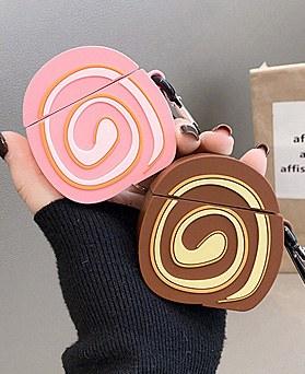 1049056 - <AP0478>甜卷蛋糕与AirPods兼容